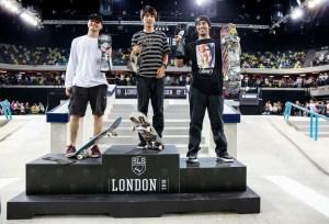 Yuto Horigome SLS London winner
