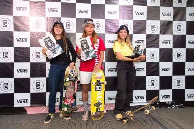 Sakura_Yosozumi wins Vans Park Ceries