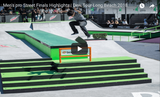 Dew Tour Long Beach 2018