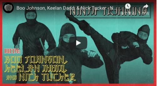 The Berrics Ninja Training Boo Johnson,Keelan Dadd,Nick Tucker.