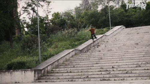 Habitat Skateboards in Milano Thrasher Magazine