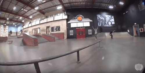 The World's FASTEST F/S Feeble Ever Marcos Montoya