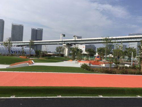 New Skate park in Tokyo Universal sports park
