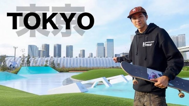 Source YouTube MDAskater SHIMON at Tokyo sport playground