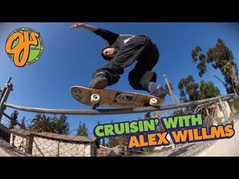 Source YouTube OJ wheels KEYFRAME Crusin' Alex Williams