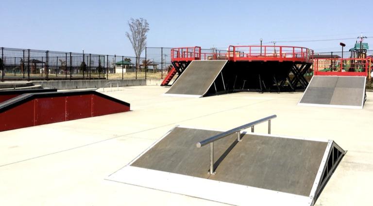 Kamiya Sougou Kouen Skate park