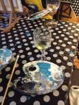 Acrylic and wine