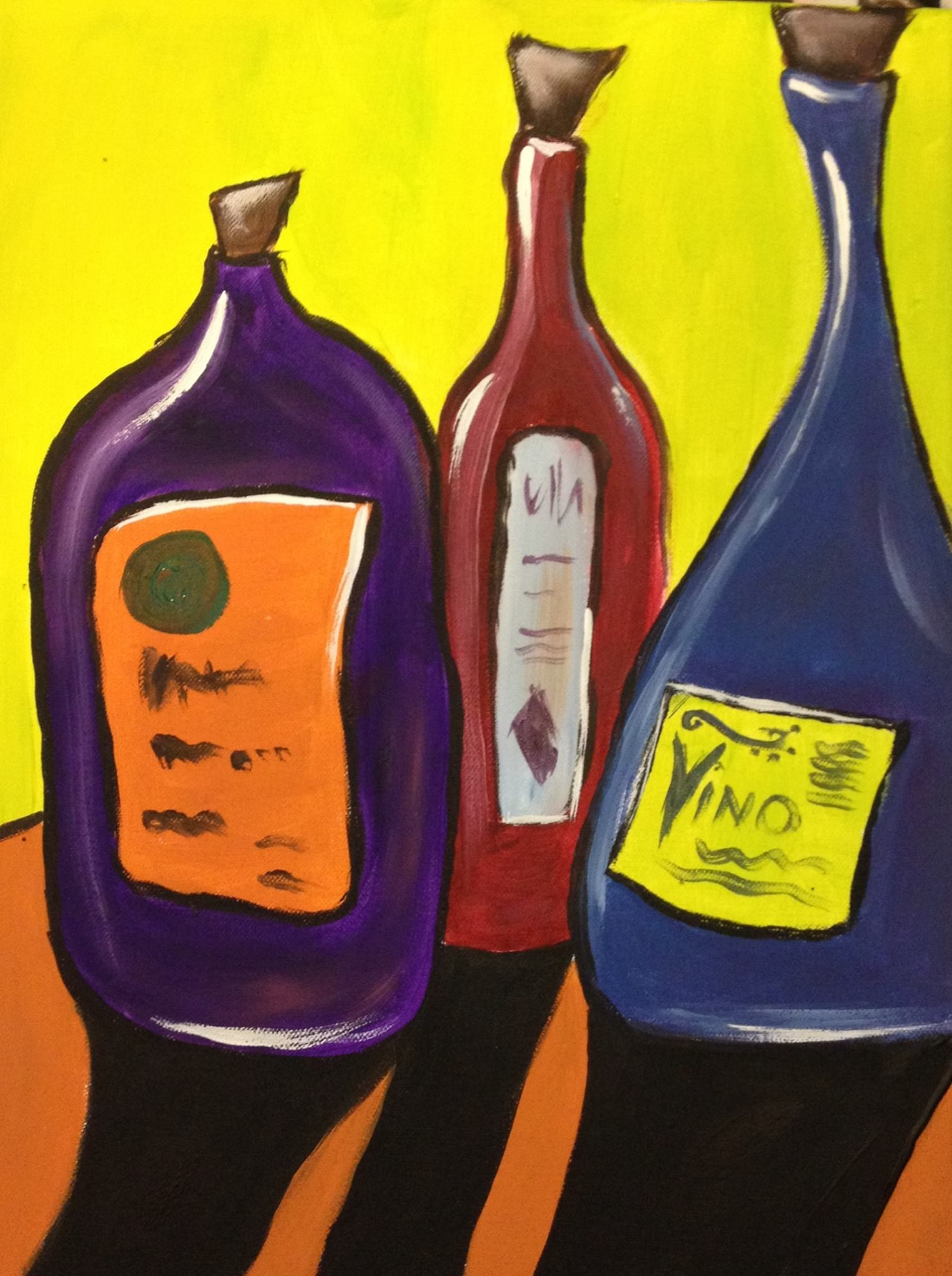 May 20th – Time for Wine – Painting pARTy