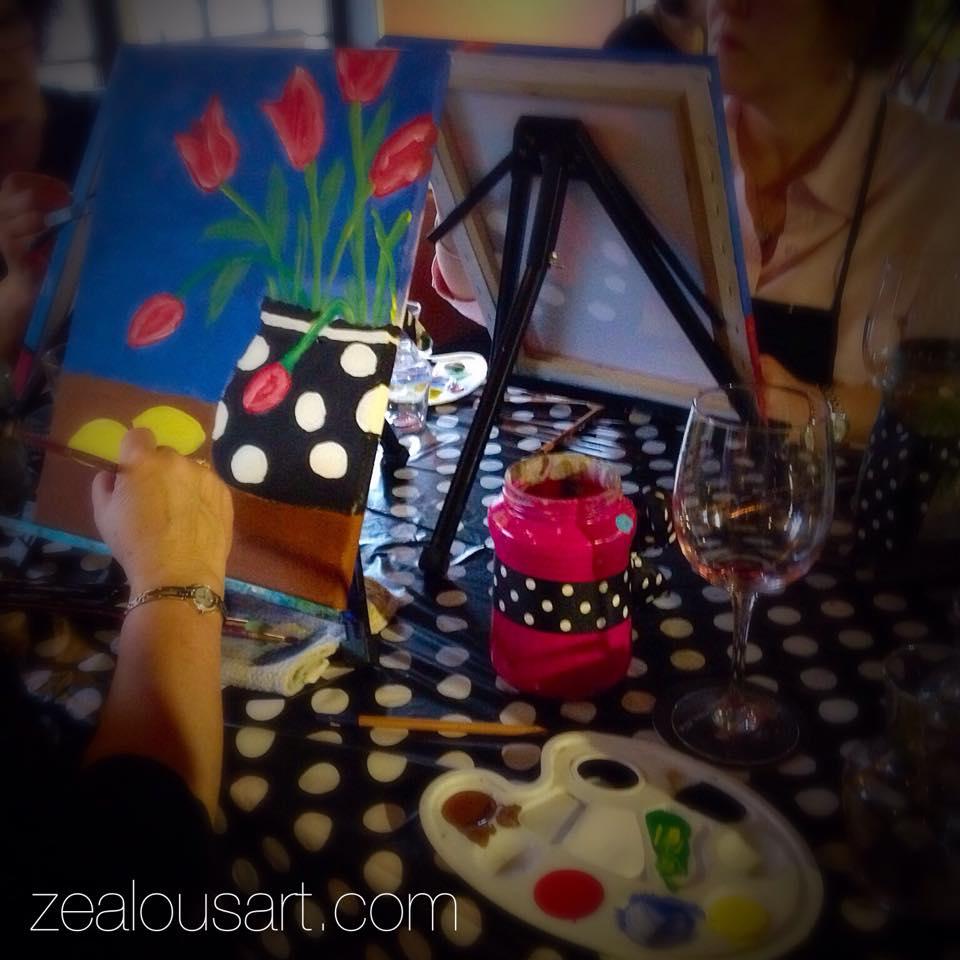 Blogger's paint pARTy