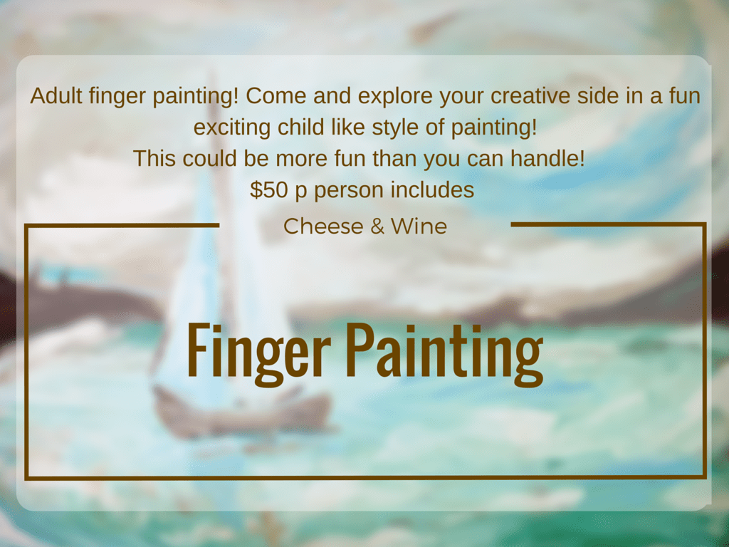 May 11 – Finger Painting – The Loft Studio ~ Langley