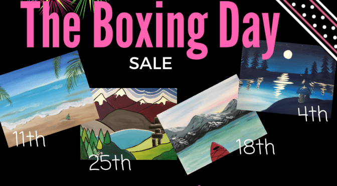 It's the Boxing Day Sale!