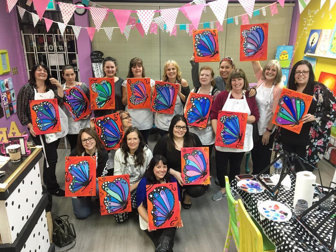 Art Night with Shape Your World Society: Total Makeover Challenge