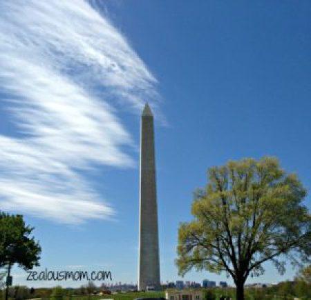 Explore Washington, DC with the Entire Family -zealousmom.com #washingtondc #familyvacation
