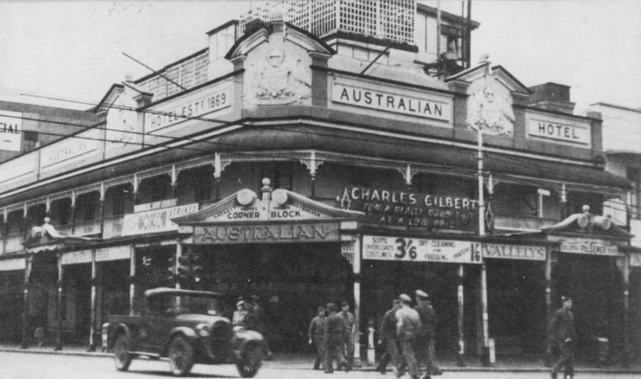 Australian Hotel, Sydney, 1942