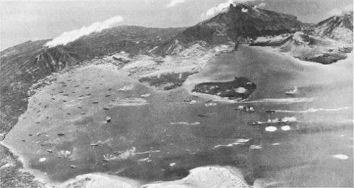 Japanese airdrome at Rabaul