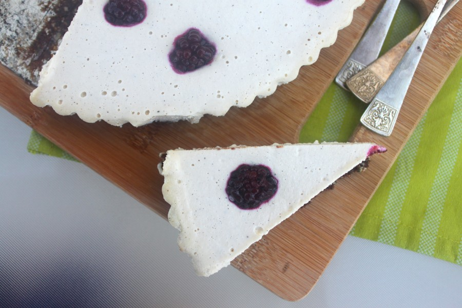 עוגת גבינה טבעונית ללא חלב