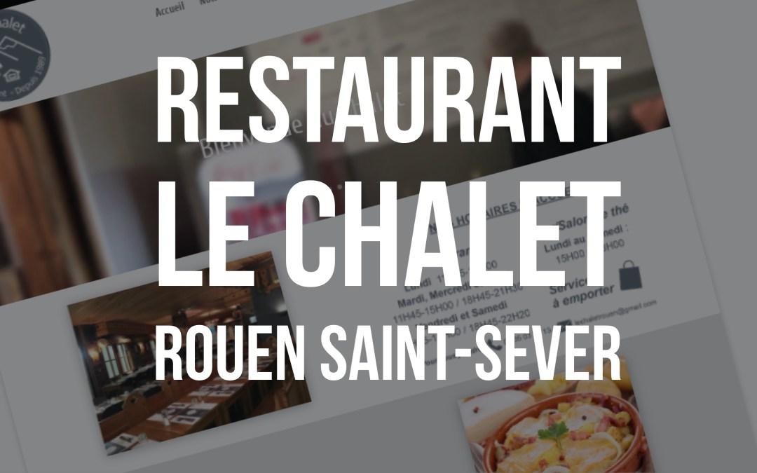 """[Nouvelle réalisation]Restaurant """"Le Chalet Rouen"""""""
