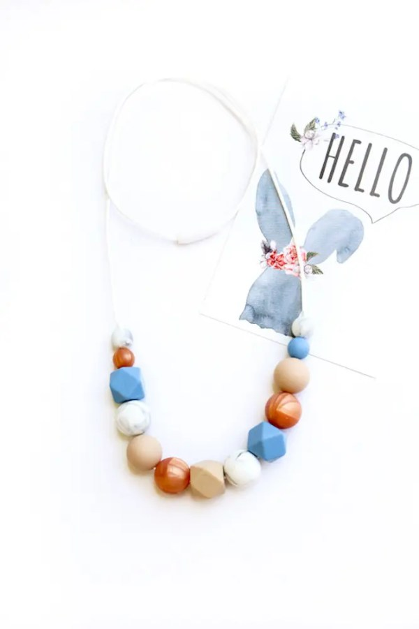 silicone necklace Caroline