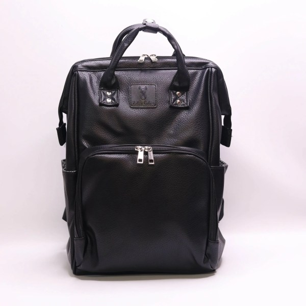 faux leather baby nappy bag backpack Australia Afterpay baby bag nappy bag black grey tan brown