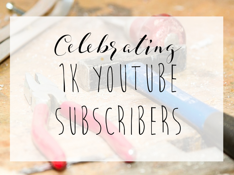 Celebrating 1k Subscribers On Youtube!