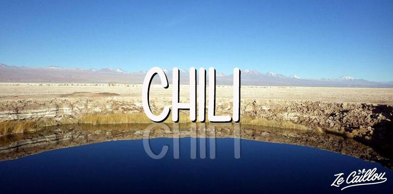Un lac miroir à Atacama au Chili de l'autre côté du monde par Ze Caillou