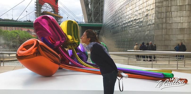 Découvrir le musée de Guggenheim à Bilbao dans le nord de l'Espagne sur notre blog de voyage