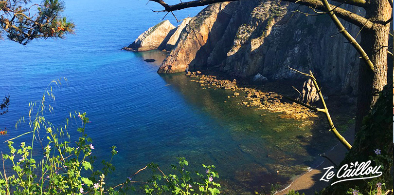 Beautiful playa del Silencio, north Spain, on our travel blog Ze Caillou