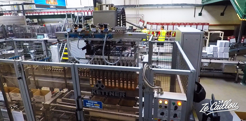 Observe the bottling process and all information about bushmills whisky production