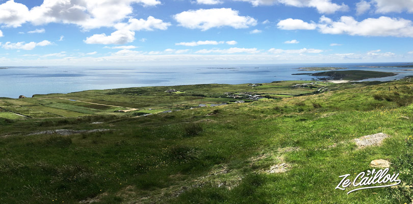 Great point of views on the Skyroad close to Clifden and Connemara national parc