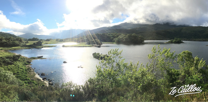 Incredible irish landscapes in the beautiful Killarney Park in the southern ireland