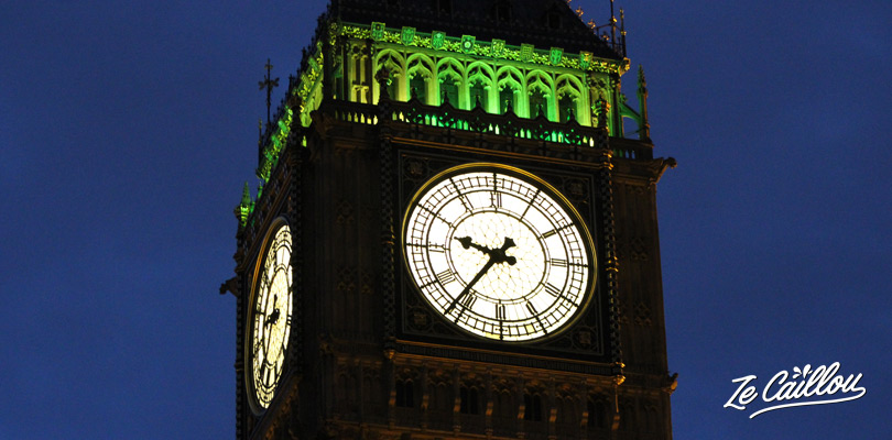 Be amazed by the Big Ben clock, the most important British touristic monument.