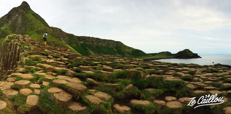 L'étrange phénomène géologique de la Chaussée des Géants en Irlande du Nord