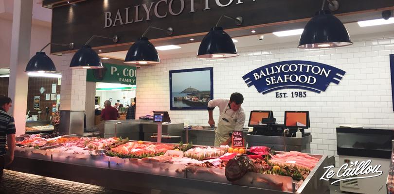 Trouvez des produits frais au fameux English Market à Cork en Irlande