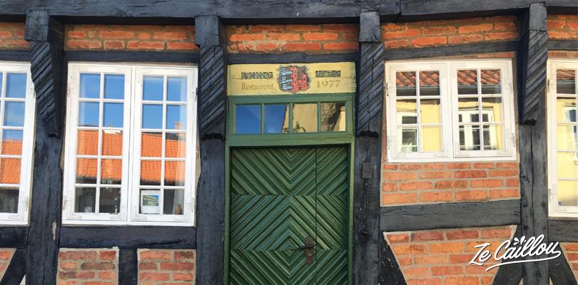 Les vieilles maison classées de Ribe, une petite ville charmante au Danemark