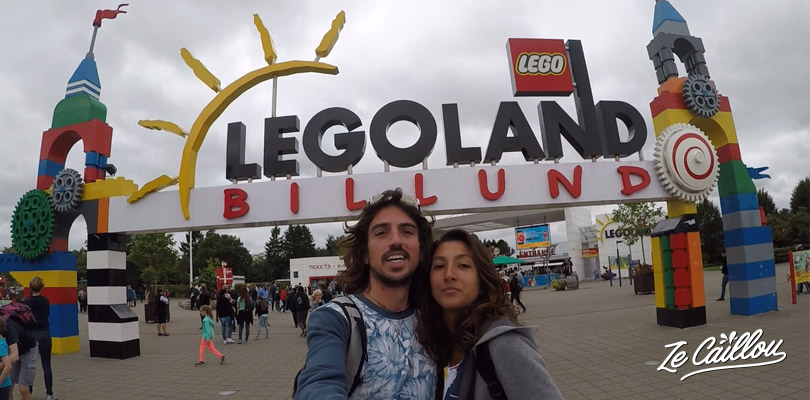 Welcome to Legoland in Billund, Lego was created in Denmark
