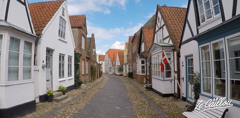 Visiting Tonder and its beautiful little streets in Denmark