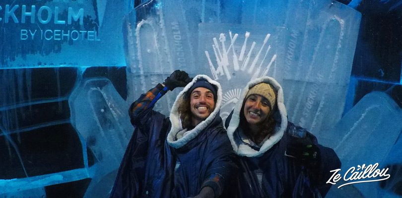 Have a very fresh drink in the IceBar of Stockholm in Sweden