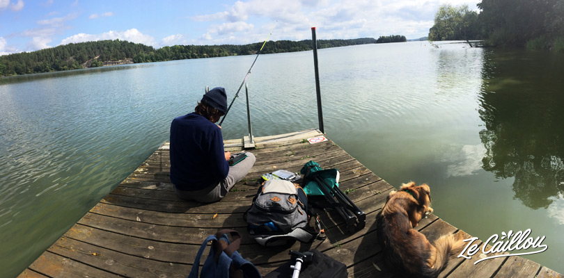 Fishing in Sweden. You can fish everywhere in the Swedish lakes