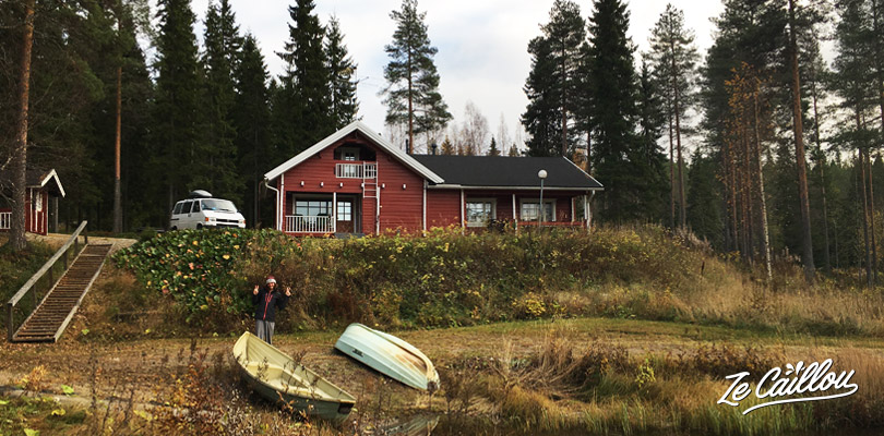 Rent a finnish cottage during your trip in Finland, lake, sauna...