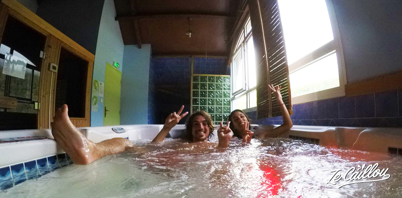 We tried the Jardin d'Heva spa in the cirque de Salazie, Reunion Island.