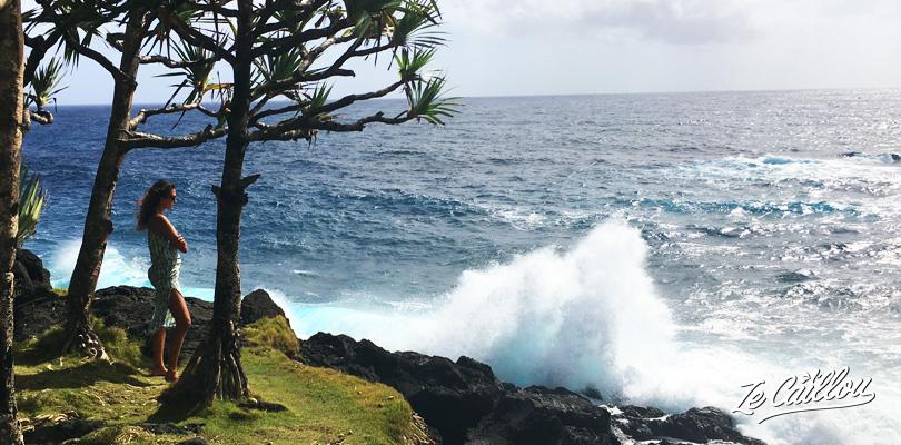 Arrêtez-vous sur le front de mer de Cayenne lors de votre roadtrip en van à la Réunion.