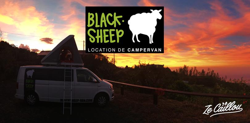 BlackSheep un de nos nouveaux partenaires de notre roadtrip en van.
