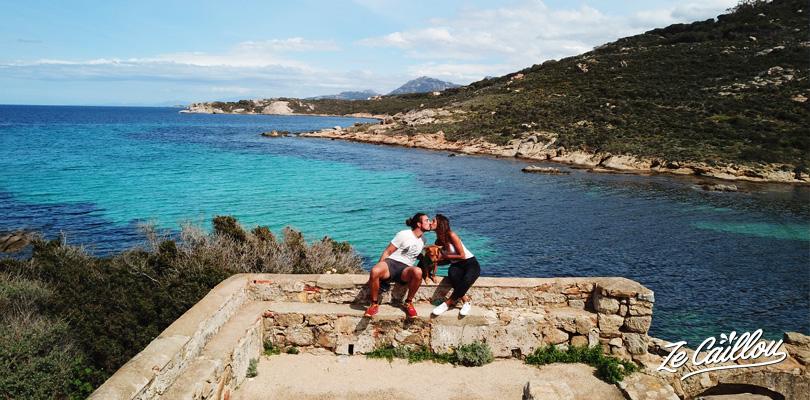 Le climat est agréable en Corse dès le mois d'avril.