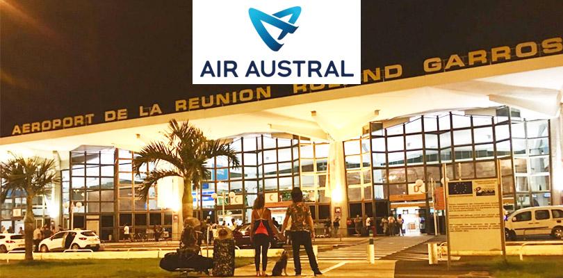 Notre nouveau partenaire, la compagnie aérienne Air Austral