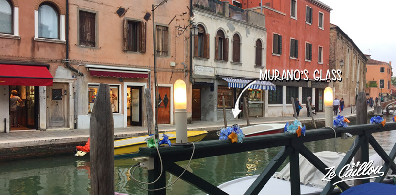 Discover the Murano glass in Murano island when you visit Venice.