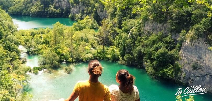 Toutes les infos pour visiter le parc national de Plitvice lors d'un road trip en croatie en van.