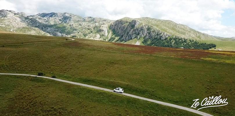 Itinéraire pour un magnifique road trip au Monténégro en van.