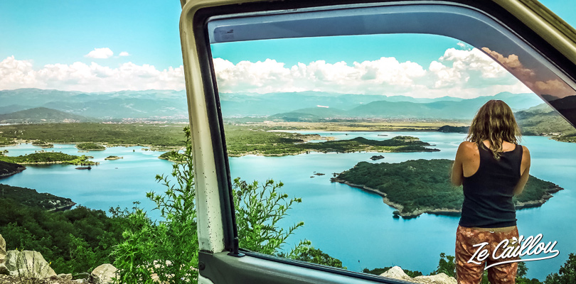 Great points of view from the road between Niksic and Risan in Montenegro.
