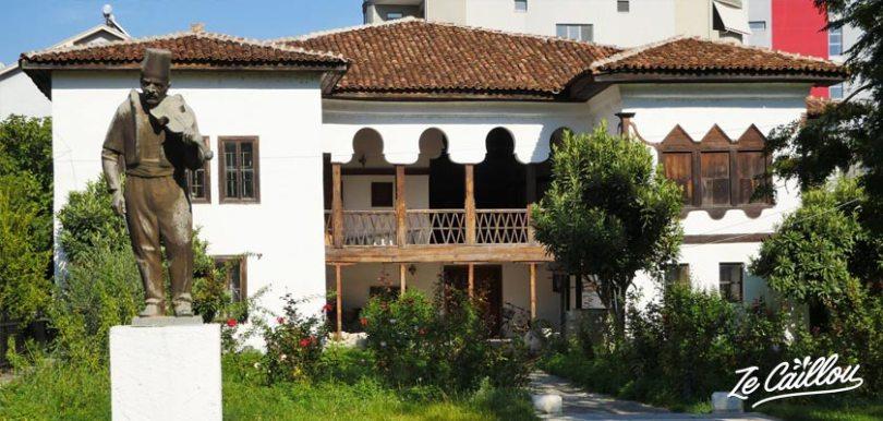 Le musée ethnographique de la ville d'Elbasan dans le centre de l'Albanie.