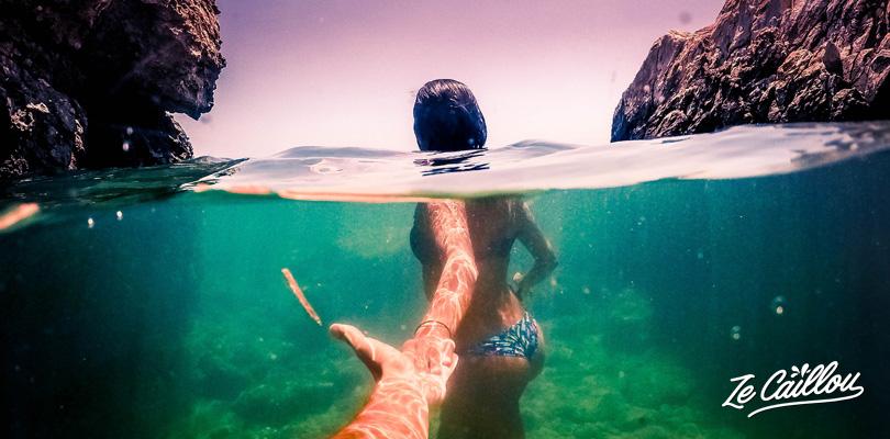 Découvrir l'île grecque en van de Naxos, ses plages idylliques, eau turquoise, cuicine locale, rando...
